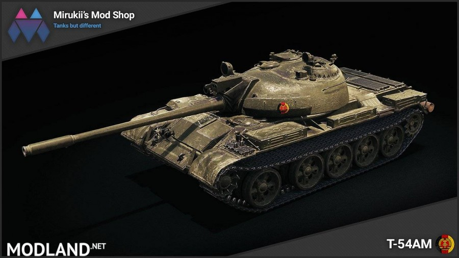 Mirukii's T-54AM Remodel (T-55A Replacement) [1.5.1.0]